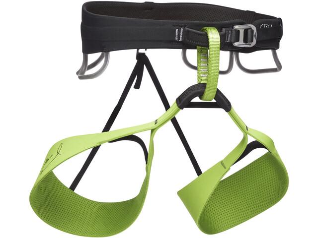 Black Diamond Klettergurt Solution : Black diamond solution honnold edition harness men verde campz.de
